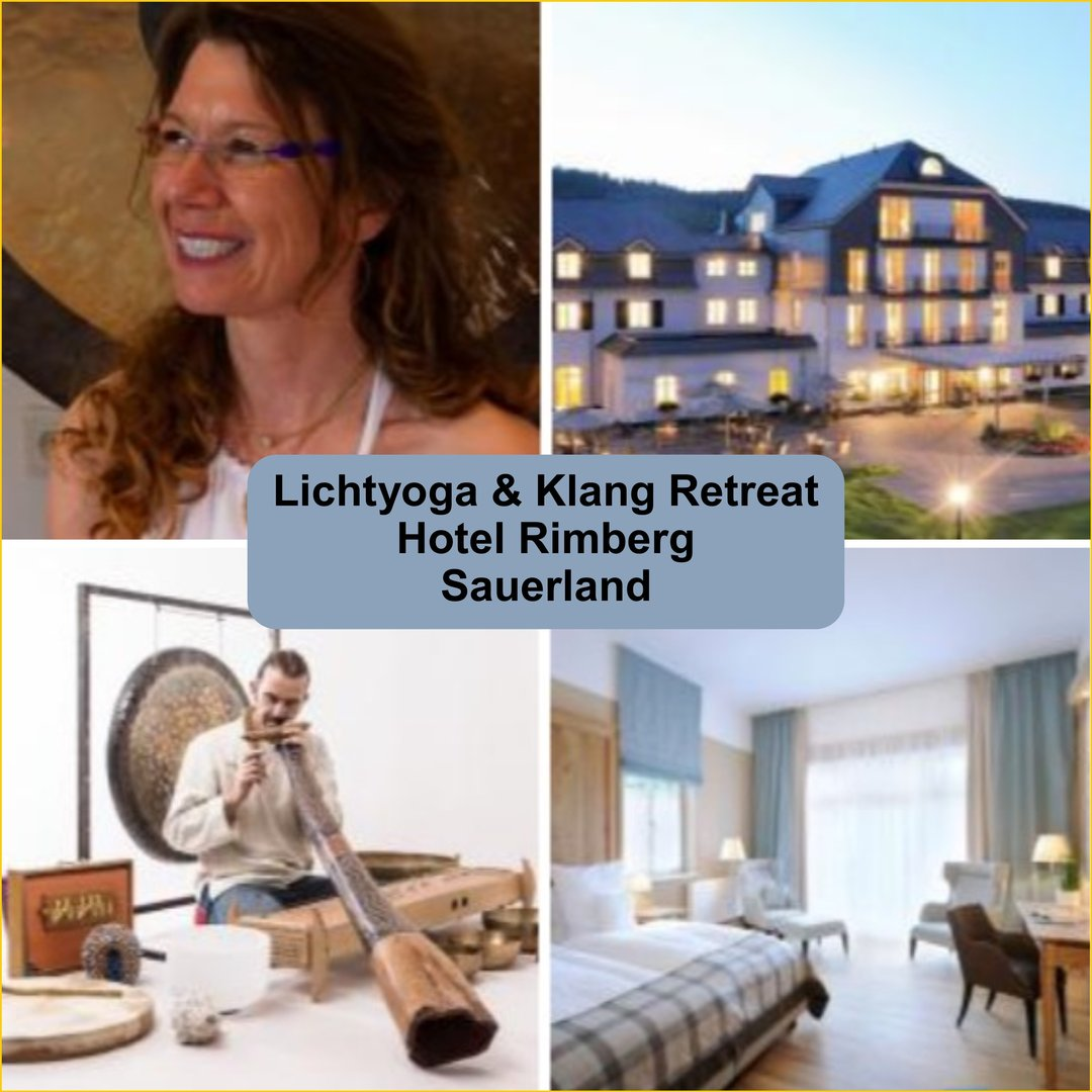 Fr. 15. - So. 17.11.19 Lichtyoga & Klang Retreat